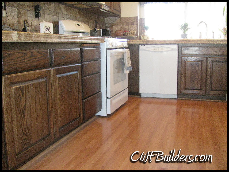 1980 style kitchen walnut cabinets for 1980 kitchen cabinets