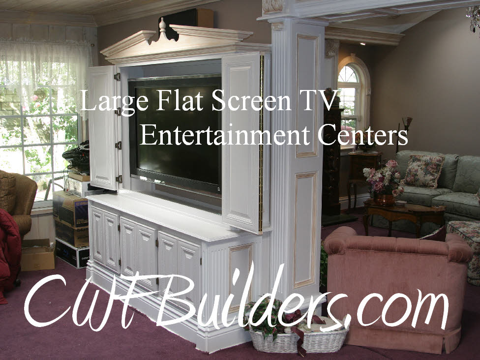 Builtin Entertainment Center Plans For Flat Screen Tvs