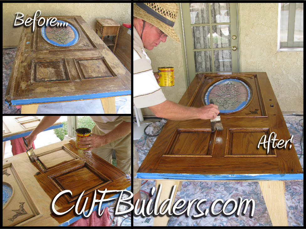 refinishing front doorConstruction Santa Clarita Christopher French Contractor Builder