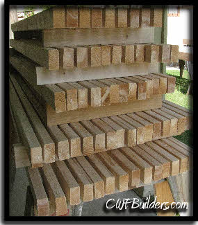 Ideally, We Like To Purchase The Lumber Weeks In Advance, So That We Can  Allow It To Dry Out, And The Tree Sap Escape As Much As Possible Before  Painting.